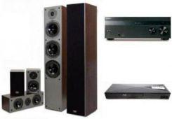 SONY STR-DH550 + BDP-S1200 + PRISM FALCON HT500