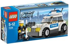 Lego City World Radiowóz 7236