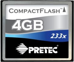 Pretec CompactFlash 8GB Cheetah II 133x