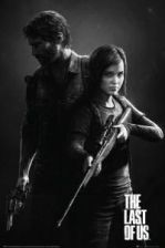 The Last Of Us BW plakat FP3465