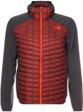 The North Face THERMOBALL HYBRID Kurtka Outdoor rosewood red/asphalt grey