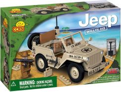 Cobi Jeep Willys Pustynia 24111