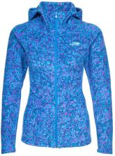 The North Face MEZALUNA Kurtka z polaru clear lake blue confetti print
