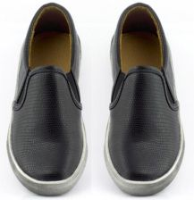 Trampki Slip On Black