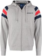 adidas Originals FITTED Bluza rozpinana medium grey heather