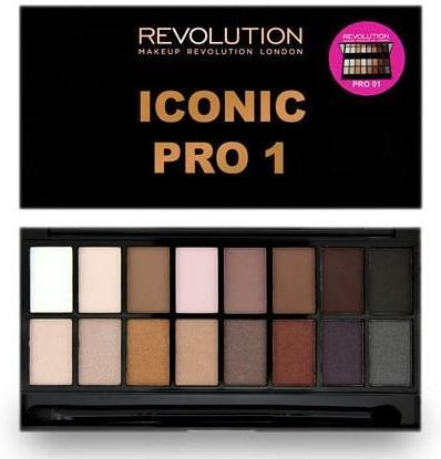 Makeup Revolution Salvation Palette Iconic Pro 1 Paletka cieni do powiek