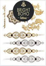 Tatuaże Boho Golden Mehendi Set