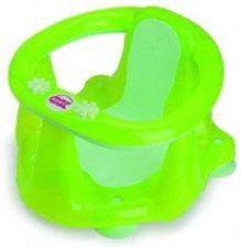 Ok Baby Krzesełko Do Wanny Z Termometrem Flipper Evolution Limonka Transparent Ok Baby OK-013