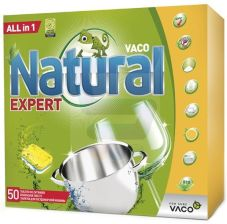 VACO Tabletki do Zmywarki All in 1 50 szt Natural Expert