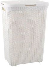 CURVER Curver NATURAL STYLE Rattan 60L kremowy 189207