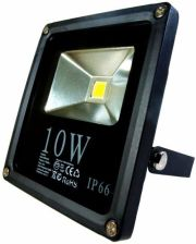 Art Lampa zew. LED 10W Slim IP66 AC80-265V,black 4000K-white sensor