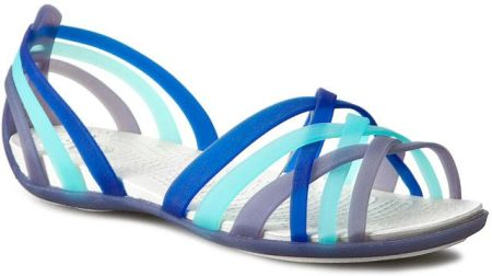 Sandały CROCS - Huarache Flat Women 14121 Nautical Navy/Aqua