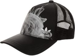 adidas Originals WHITE SMOKE Czapka z daszkiem black