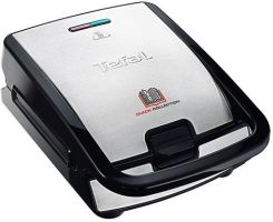 Tefal Snack Collection SW854D16 Czarny/Chrom
