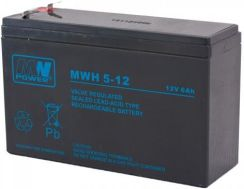 MW Power Akumulator MWH 5-12L 12V 5Ah (MWH 5-12(L))