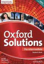Oxford Solutions Pre-Intermediate Podręcznik Ed. 2015