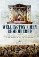 Wellingtons Men Remembered