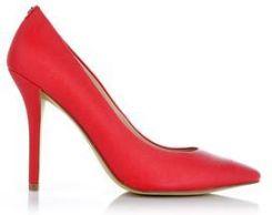 Guess Plasmia5 buty na wysokim obcasie czerwone