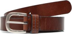 Paski Stitched loop leather Belt by Esprit