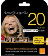 Orange Go 20 karta startowa