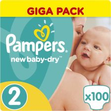 Pampers New Baby-Dry 2 Mini (3-6kg) 100szt.