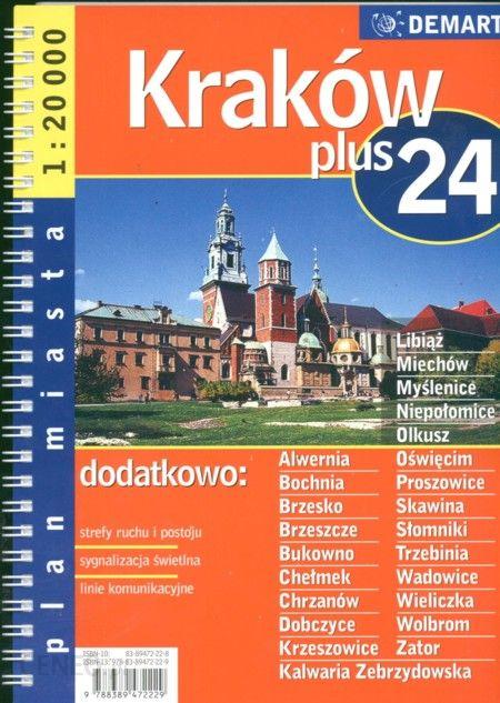 Mapa Krakowa Planowanie Trasy