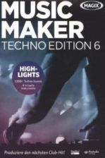 MAGIX Music Maker Techno Edition 6, DVD-ROM