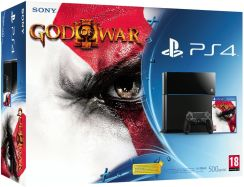 Sony PlayStation 4 500GB + God Of War III Remastered