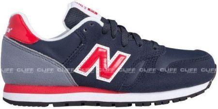 new balance 373 navy red