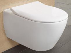 Villeroy&Boch Subway 2.0 Direct Flush 56x37 + Slim Seat 5614R201