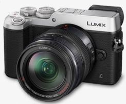 Panasonic Lumix DMC-GX8 Srebrny + 12-35mm