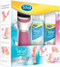 Scholl Velvet Smooth Diamond zestaw