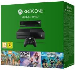 Xbox ONE 500GB + Kinect + Dance Central Spotlight