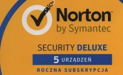 Symantec Norton Security Deluxe BOX PL 5PC 1 Rok (21357600)