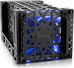 "Icy Dock Black Vortex 4x3.5"" SATA (MB174U3S-4SB)"