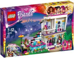 LEGO Friends Dom gwiazdy pop Livi 41135