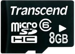 Transcend SecureDigital High Capacity 8Gb class 6 (TS8GUSDHC6)