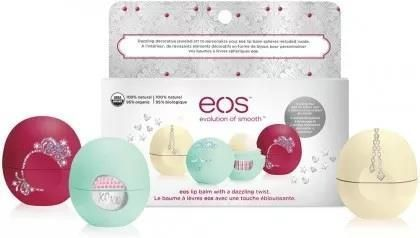 Eos Holiday Balsamy do ust 7g x 3 szt.