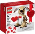 LEGO Valentine`s Cupid Dog