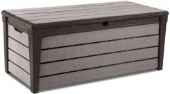 Keter Brushwood Storage Box 455 L Brązowy (17202631)