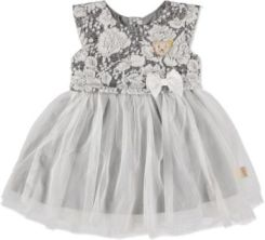 STEIFF Girls Baby Sukienka light grey (6523218_0004)