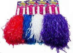 Kontext Pompony Cheerleaderskie 2sztuki mix kolor (38451)