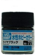 MR.HOBBY Hobby Color H77 Tire Black F.