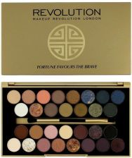 Makeup Revolution Fortune Favours the Brave paleta 30 cieni do powiek 16g
