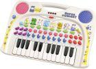 Simba Keyboard Interaktywne Pianinko Organki Zwierzęta 6833600