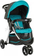 Graco Fastaction Fold Ocean Grey Spacerowy