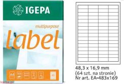 Igepa Label Multipurpose 48,3x16,9