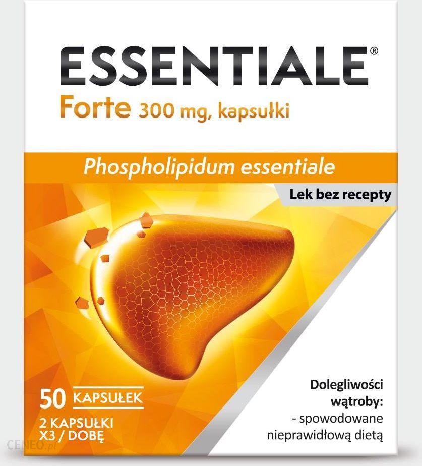 Essentiale Forte 300mg 50 kapsułek