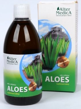 Aloes Sok Z Aloesu 99,7% 500 ml (Alter Medica)