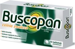 Buscopan 10mg 10 tabletek